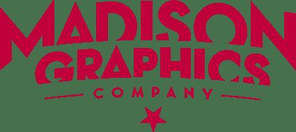 Madison Graphics Logo Version 2 Red